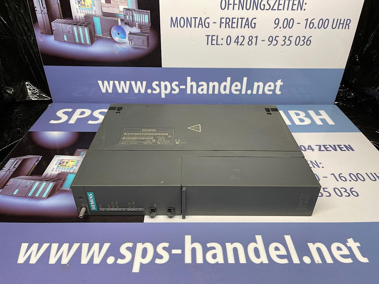 6ES7405-0KA01-0AA0   PS405   gebraucht
