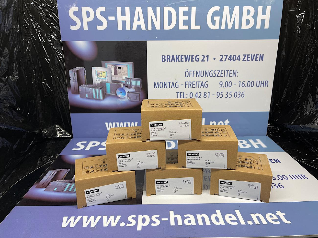 6ES7223-1PH32-0XB0   SM1223   NEU Siegel 30%