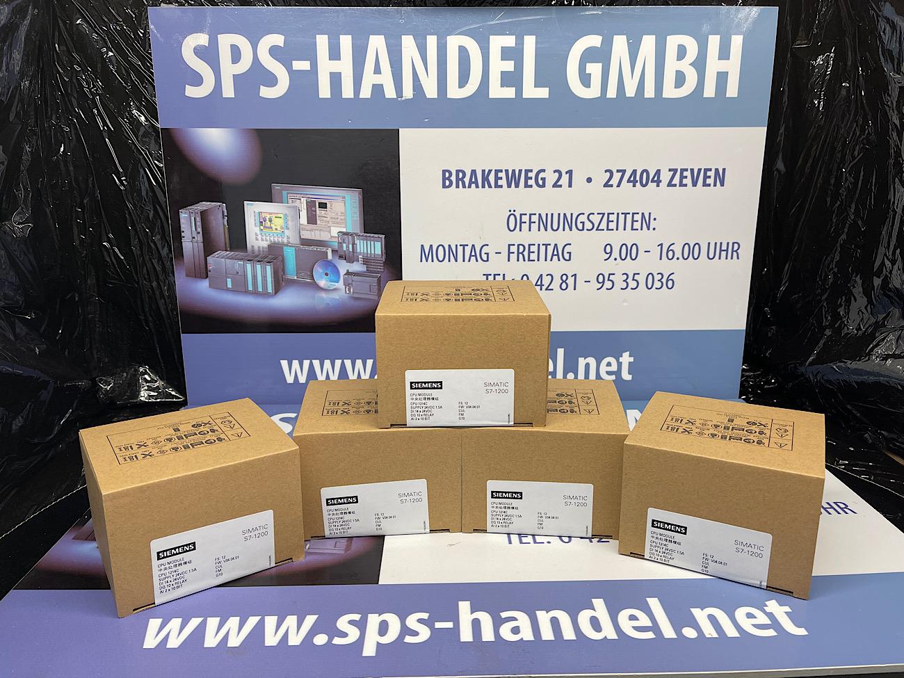 6ES7214-1HG40-0XB0   CPU 1214C   NEU Siegel 33%