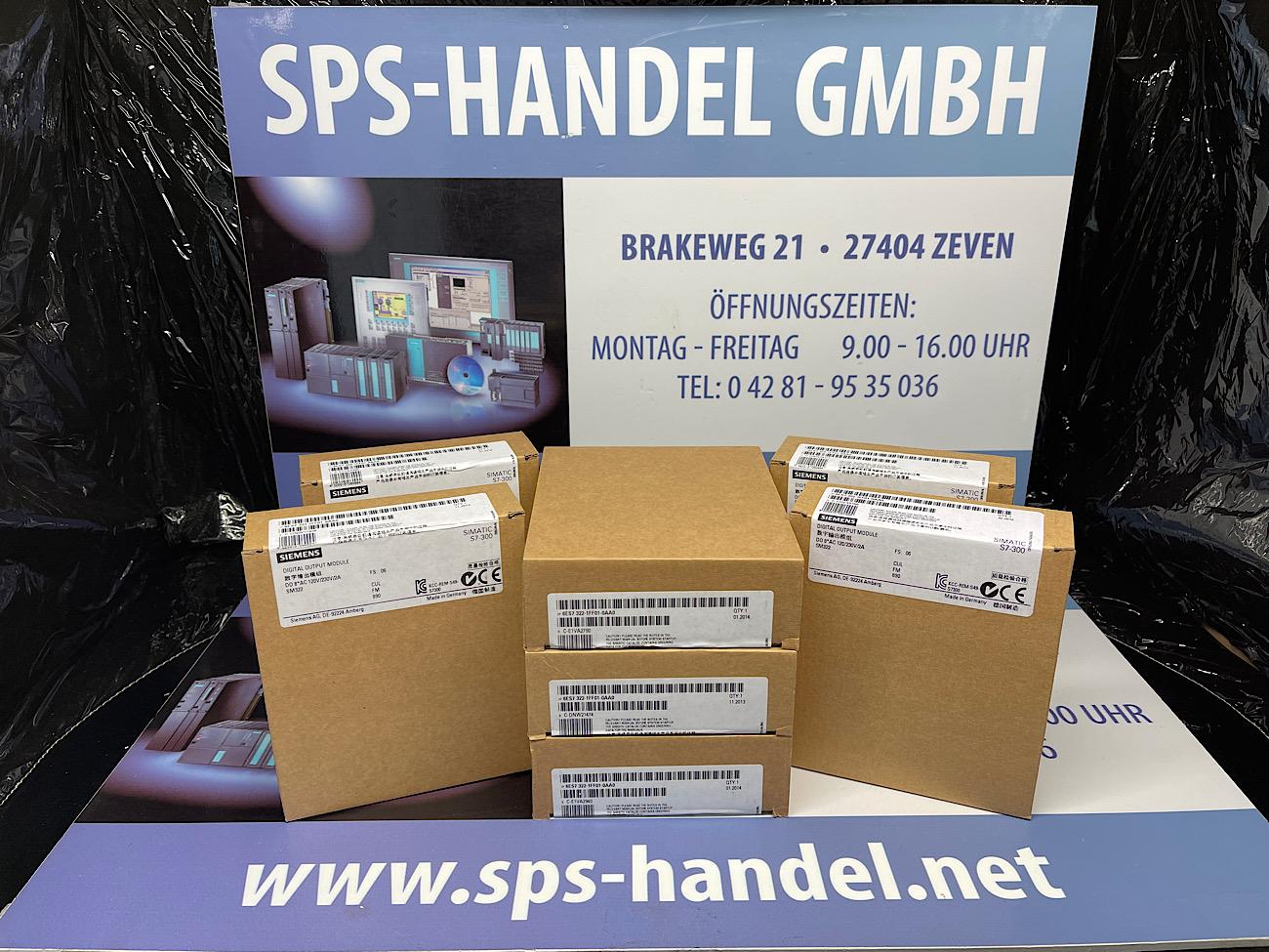 6ES7322-1FF01-0AA0   SM322120/230V   Neu Siegel 35%