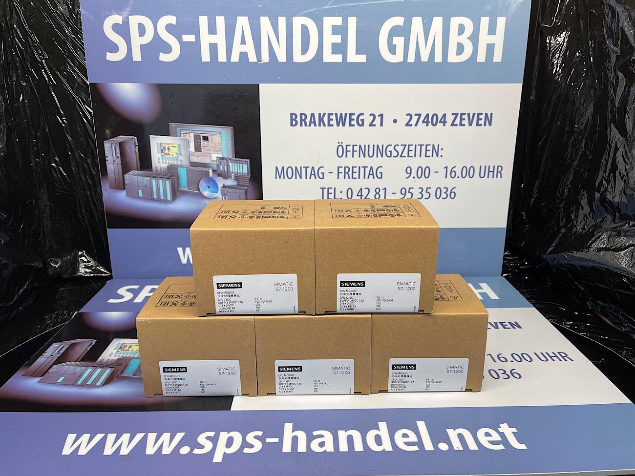 6ES7212-1HE40-0XB0   CPU 1212C   NEU Siegel 30%