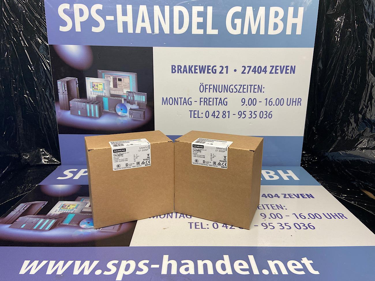6ES7510-1DJ01-0AB0   CPU 1510SP-1 PN   NEU Siegel 26%