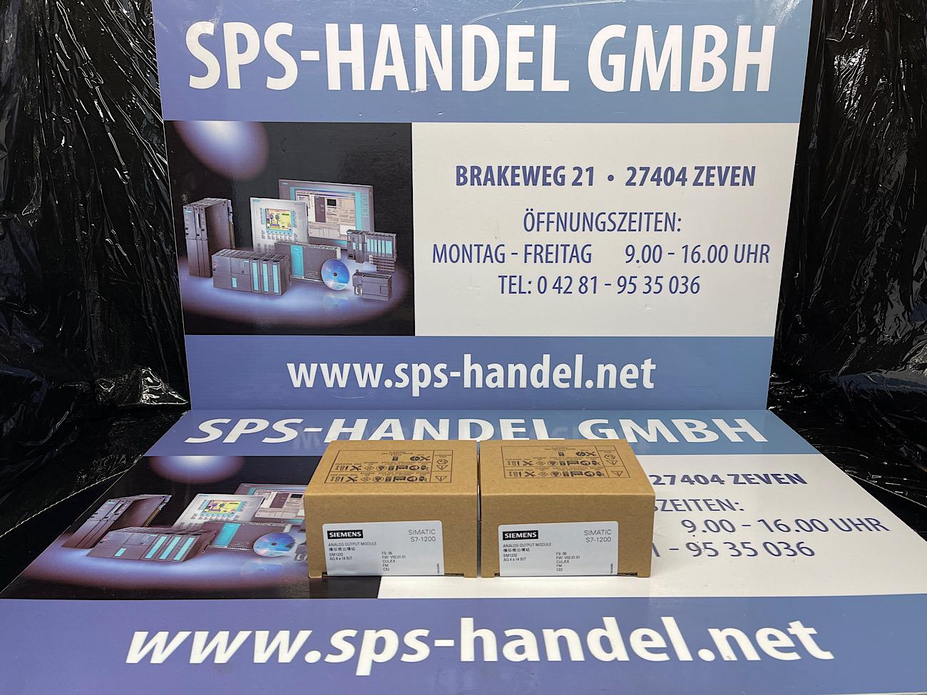 6ES7232-4HD32-0XB0   SM 1232   NEU Siegel (30%)