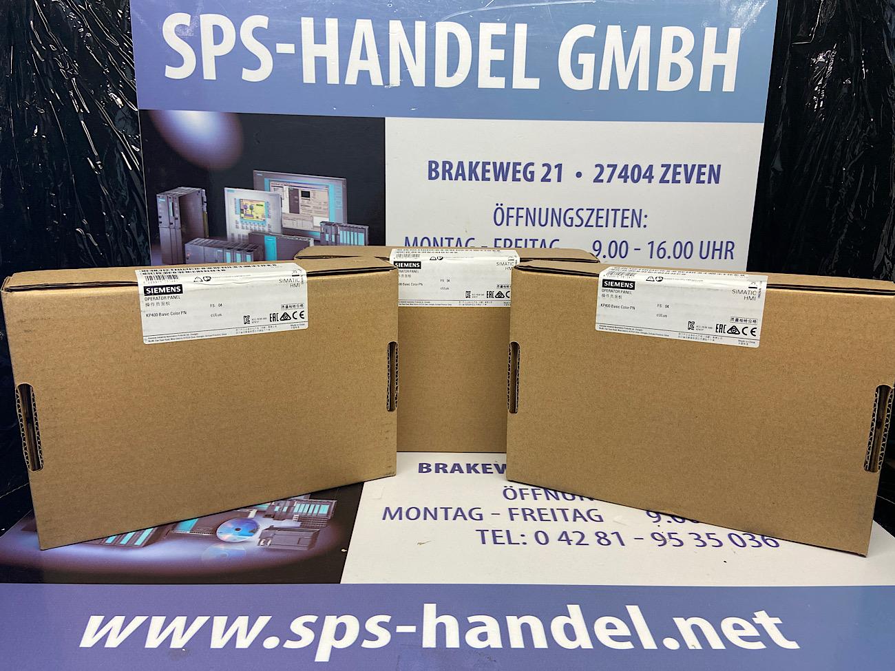 6AV6647-0AJ11-3AX0   HMI KP400 Basic Color PN   Neu Siegel 30%