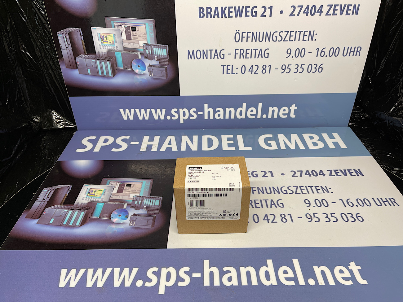 6ES7232-0HD22-0XA0   EM 232   NEU Siegel 30%