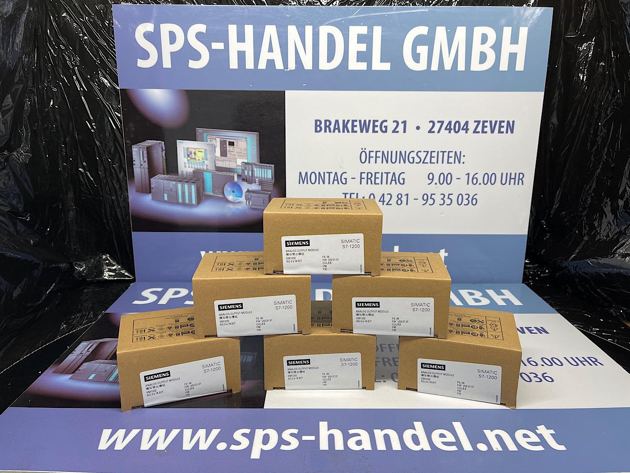 6ES7232-4HB32-0XB0   SM 1232   NEU Siegel 30%