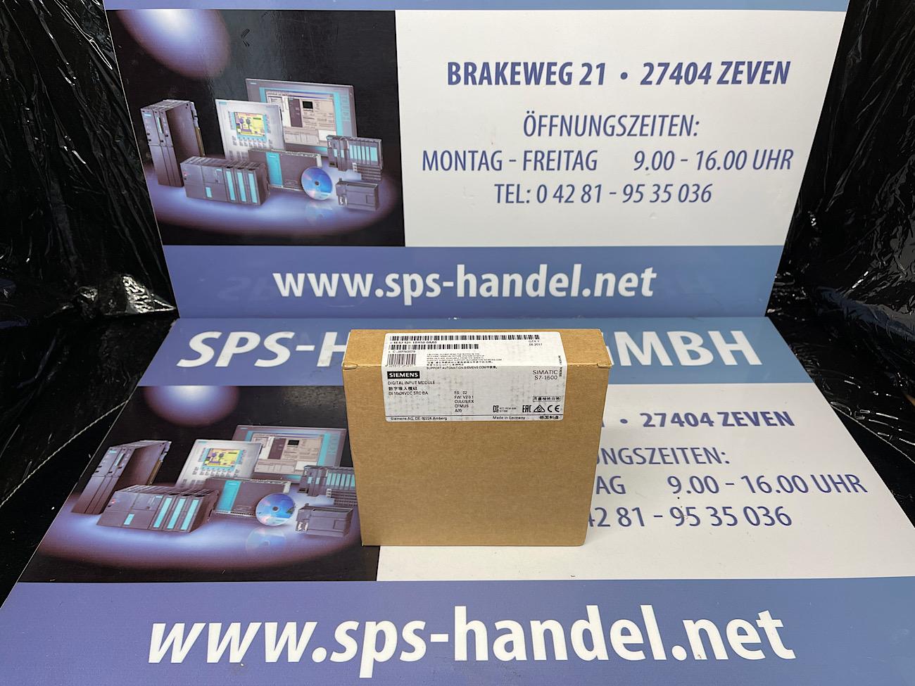 6ES7521-1BH50-0AA0   DI 16xDC 24V BA   NEU Siegel 30%