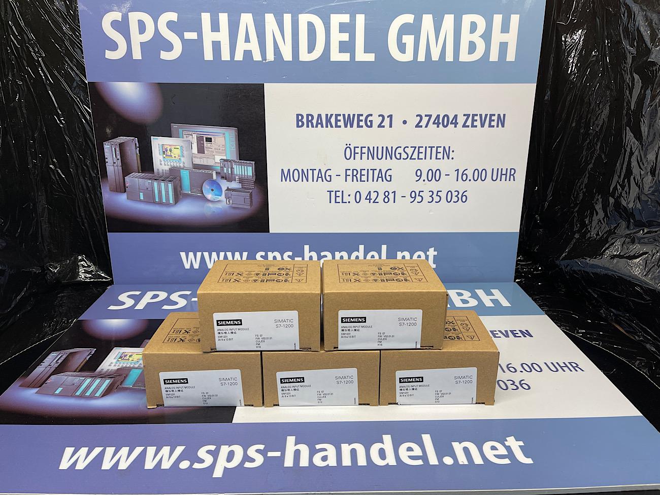 6ES7231-4HF32-0XB0   SM 1231   NEU Siegel (30%)