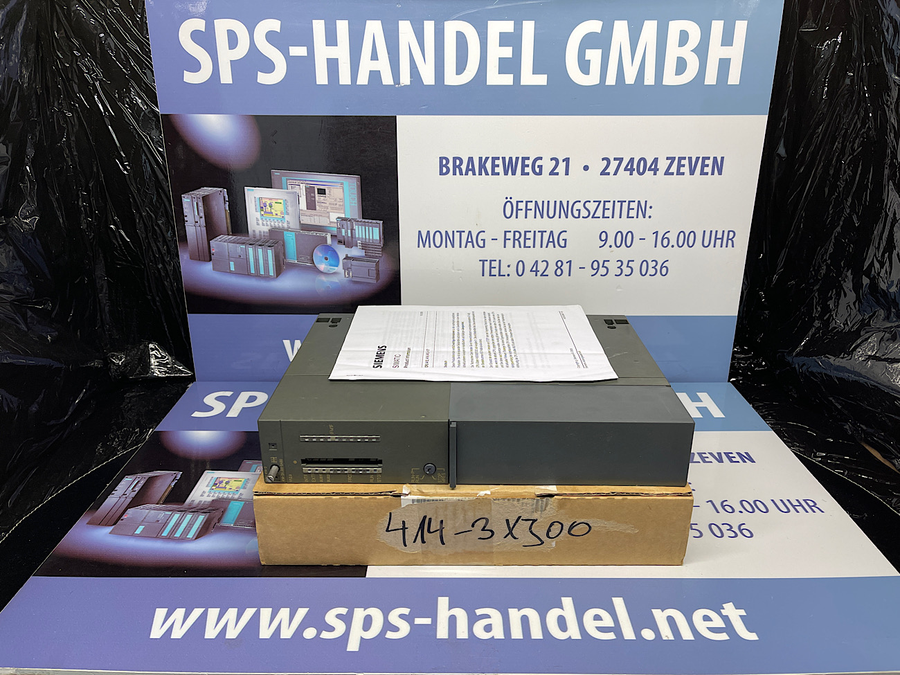 6ES7414-3XJ00-0AB0   CPU 414-3   gebraucht