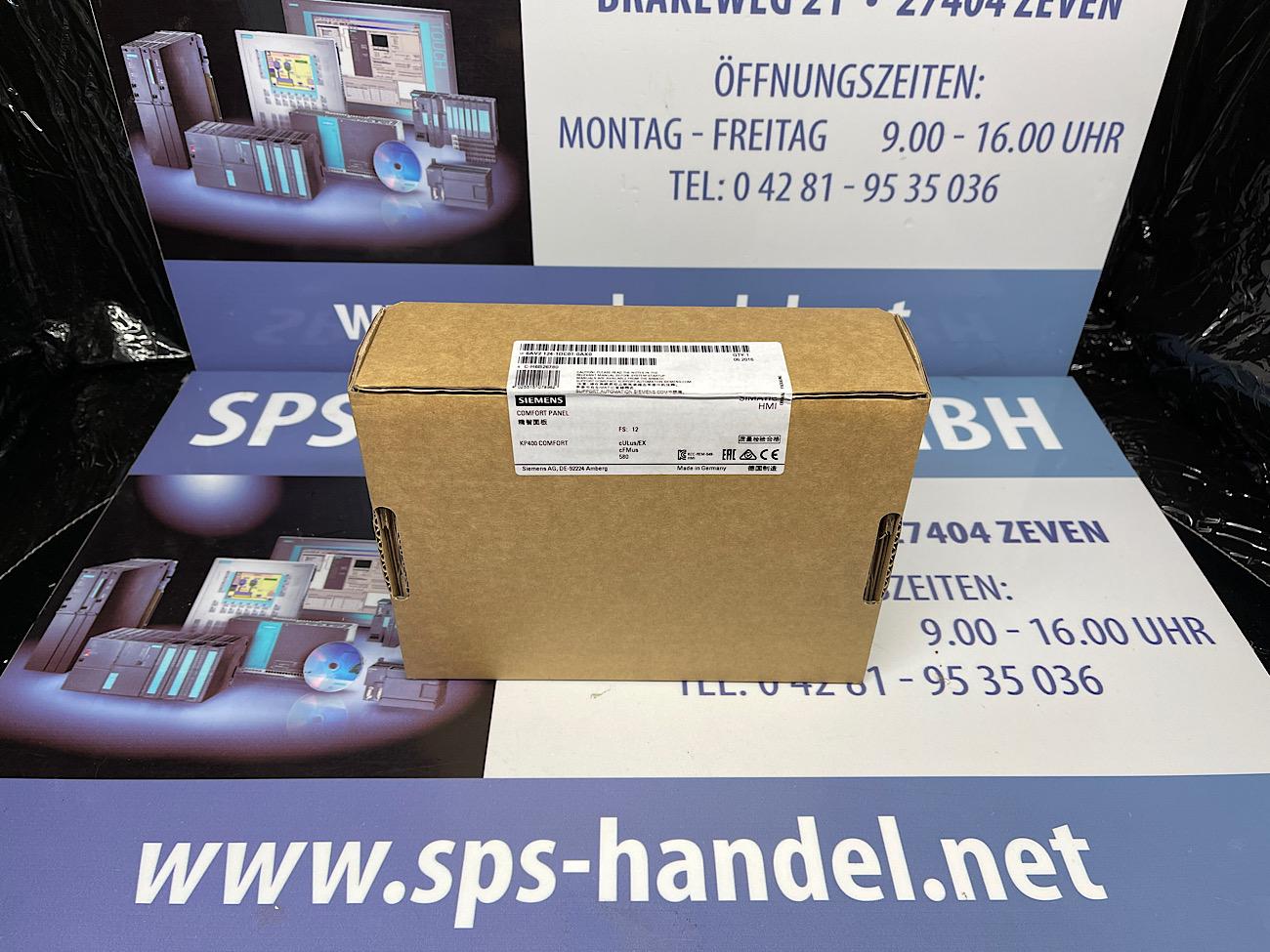 6AV2124-1DC01-0AX0   KP400 Comfort   Neu Siegel 30%