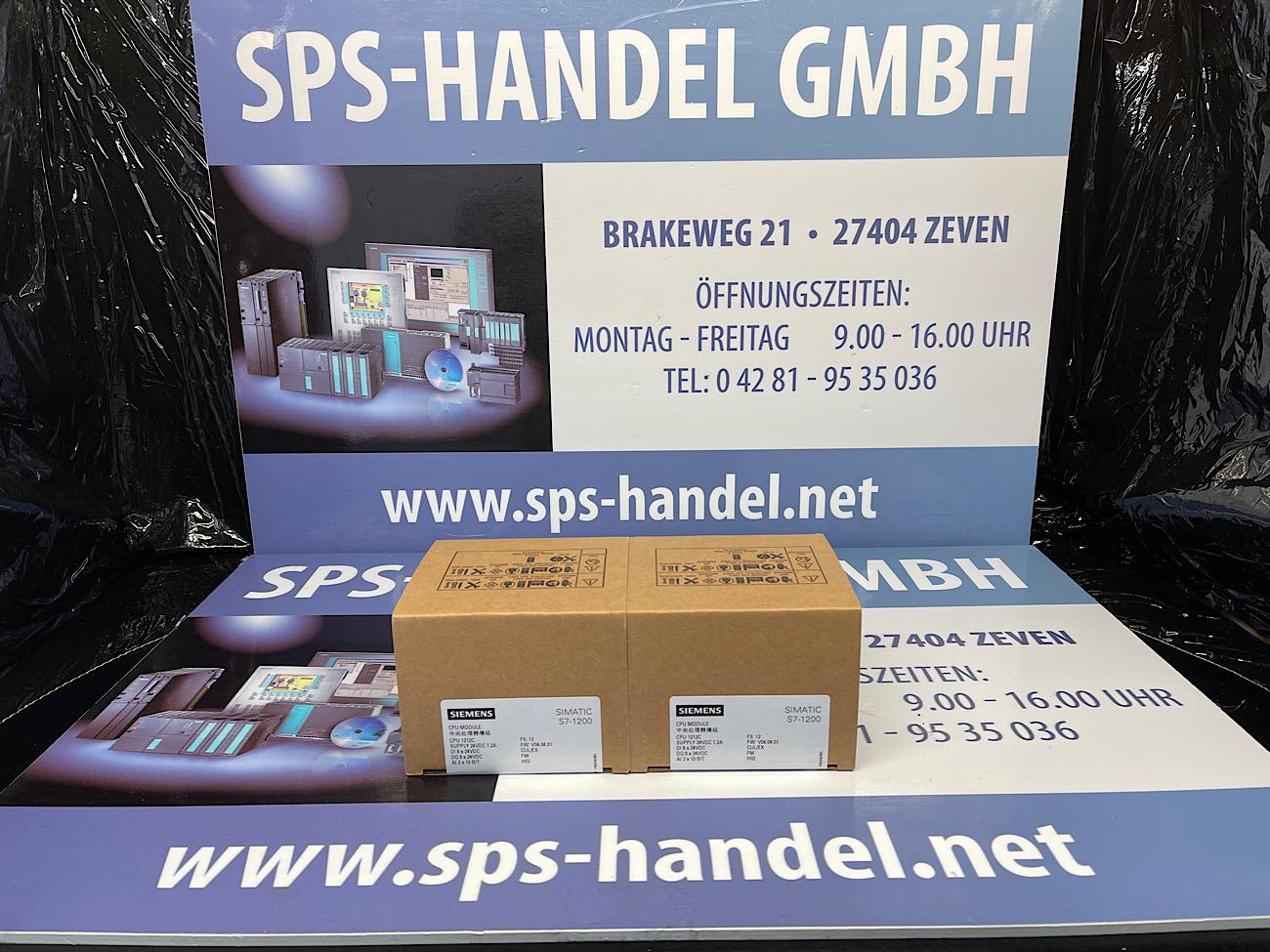 6ES7212-1AE40-0XB0   CPU 1212C   NEU Siegel 30%