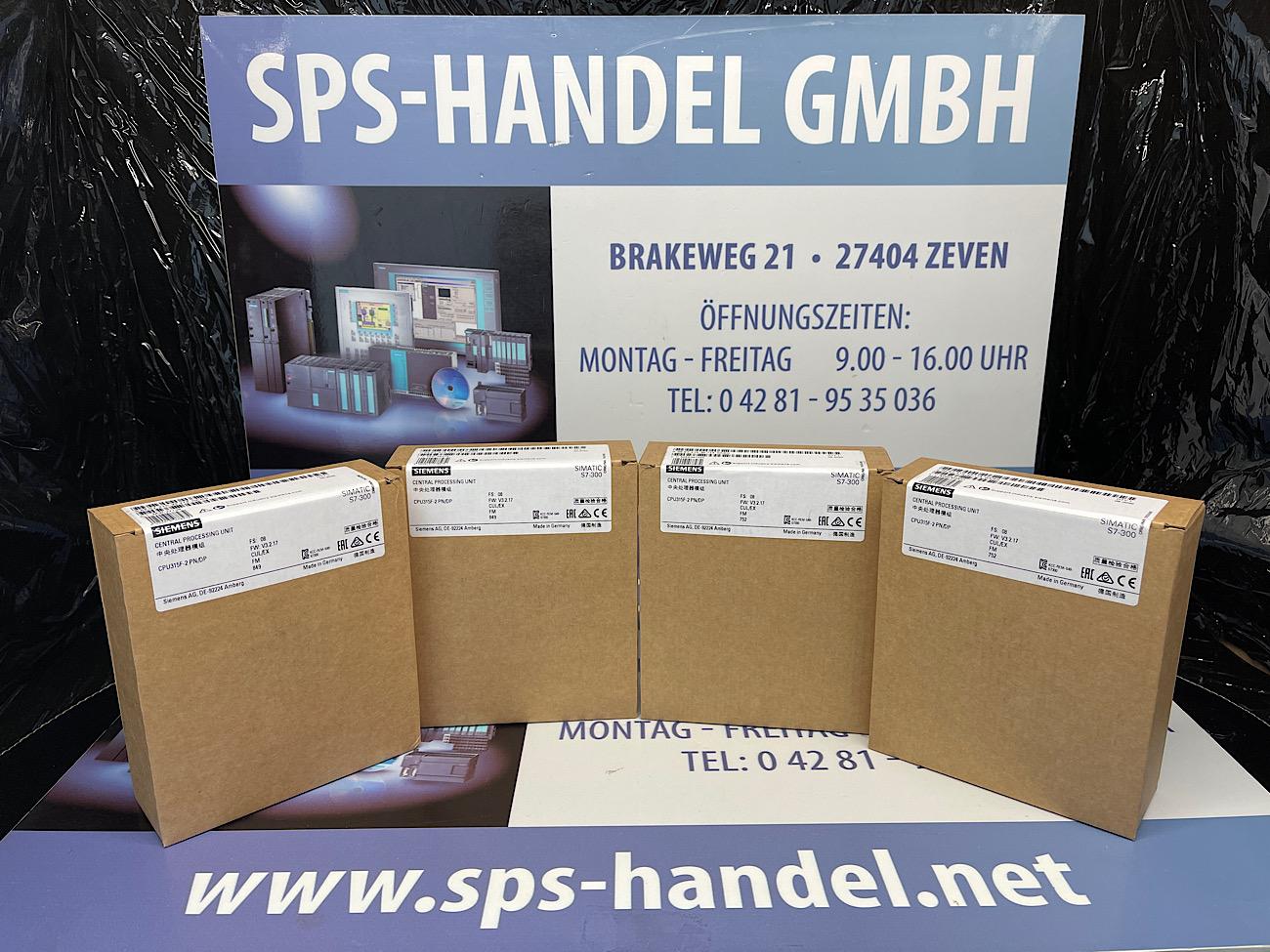 6ES7315-2FJ14-0AB0   CPU315F-2 PN/DP   NEU Siegel (35%)