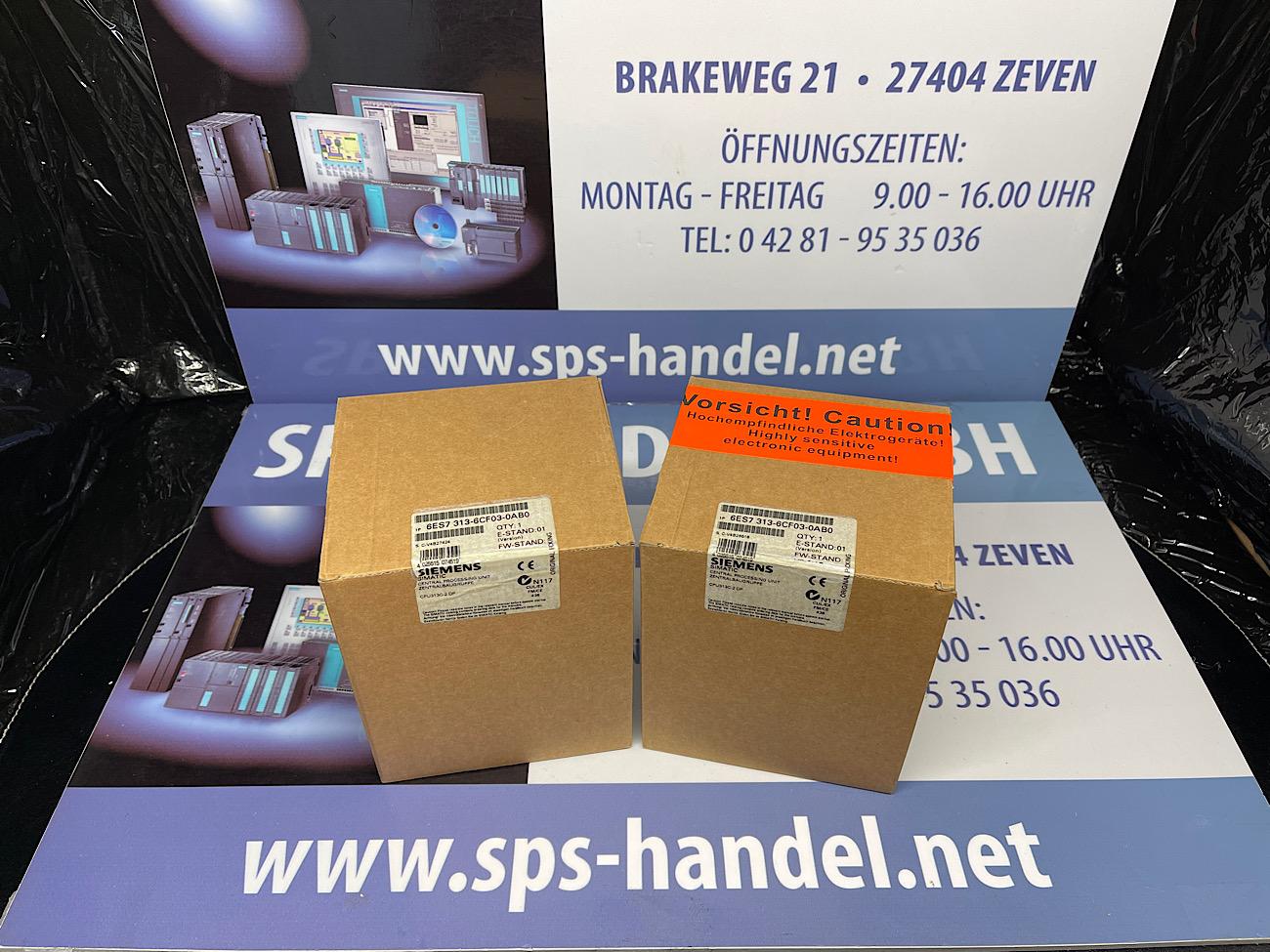 6ES7313-6CF03-0AB0   CPU 313C-2 DP    NEU  Siegel  40%