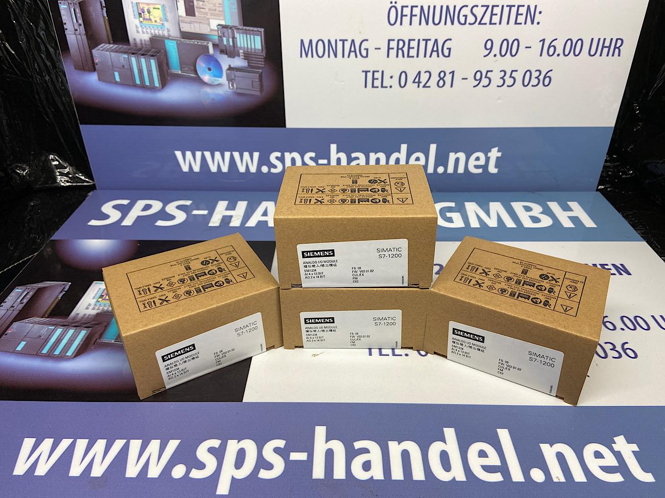 6ES7234-4HE32-0XB0   E/A SM 1234   NEU Siegel 30%