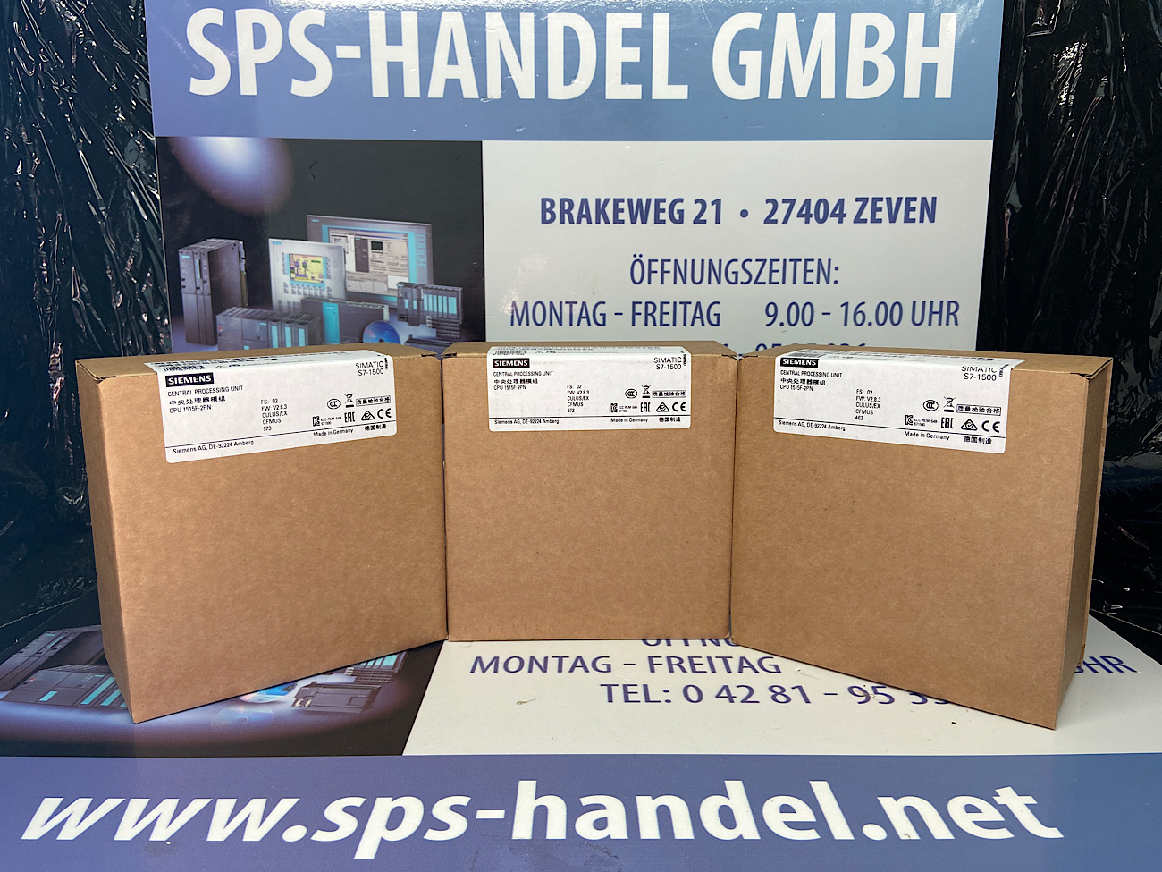6ES7515-2FM02-0AB0 | S7-1500F | CPU1515F-2PN | NEU Siegel 26%