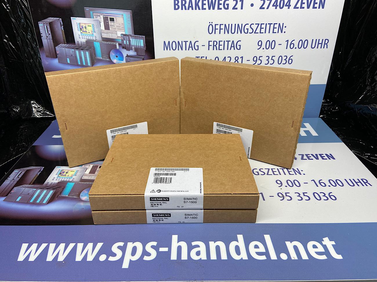 6ES7590-1AB60-0AA0 | Profilschiene 160mm | NEU Siegel (26%)