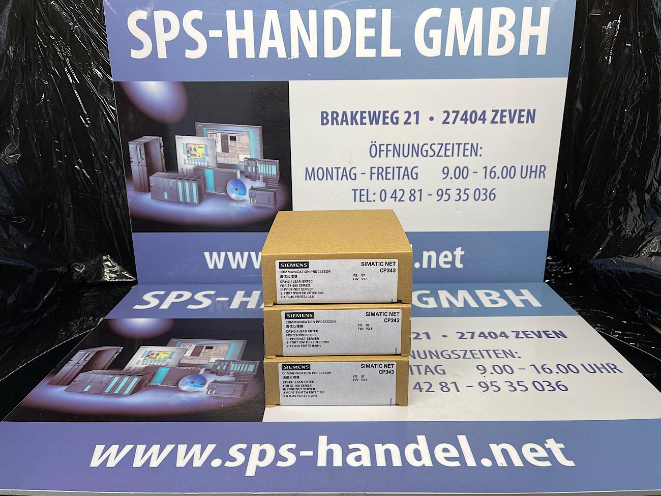 6GK7343-1CX10-0XE0   CP 343-1 LEAN   Neu Siegel (30%)