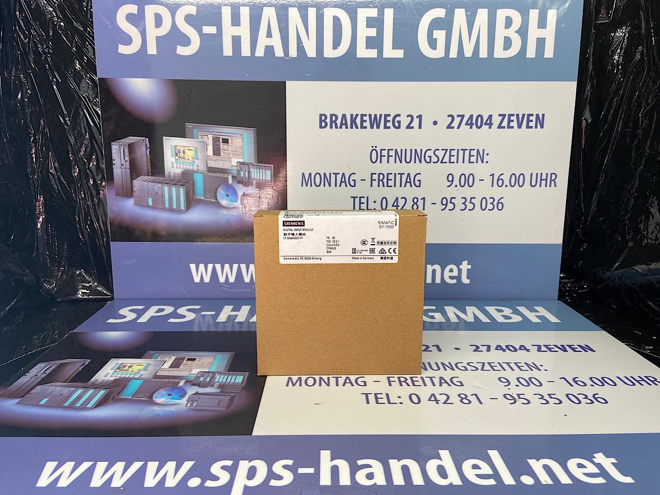 6ES7521-1BL00-0AB0 | S7-1500 DI32xDC | NEU Siegel 26%