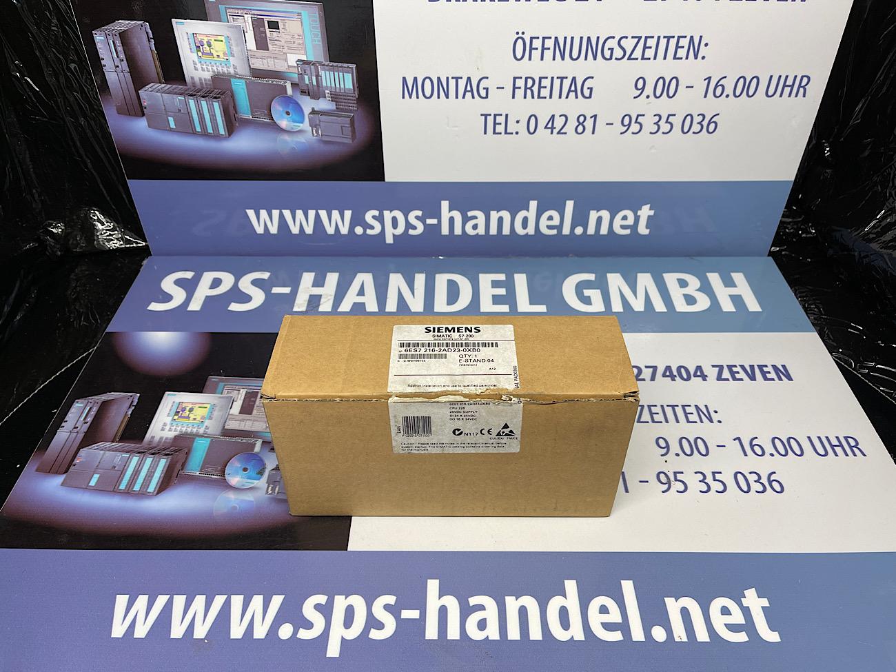 6ES7216-2AD23-0XB0   CPU 226   NEU Siegel offen  40%