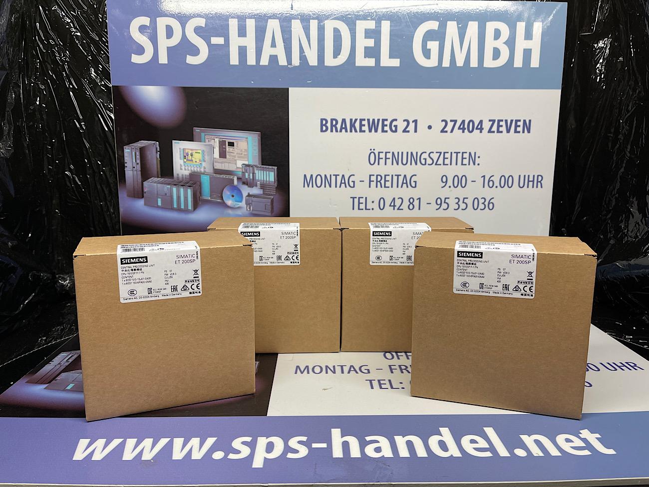 6ES7510-1SJ01-0AB0 | CPU 1510SP | NEU Siegel 26%
