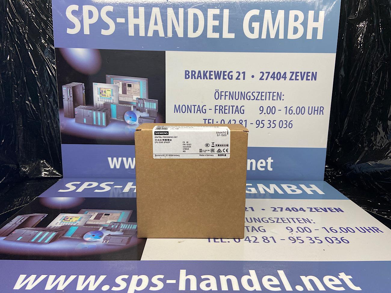 6ES7516-3FN02-0AB0 | S7-1500F | CPU 1516F-3 PN/DP | Neu Siegel 26%