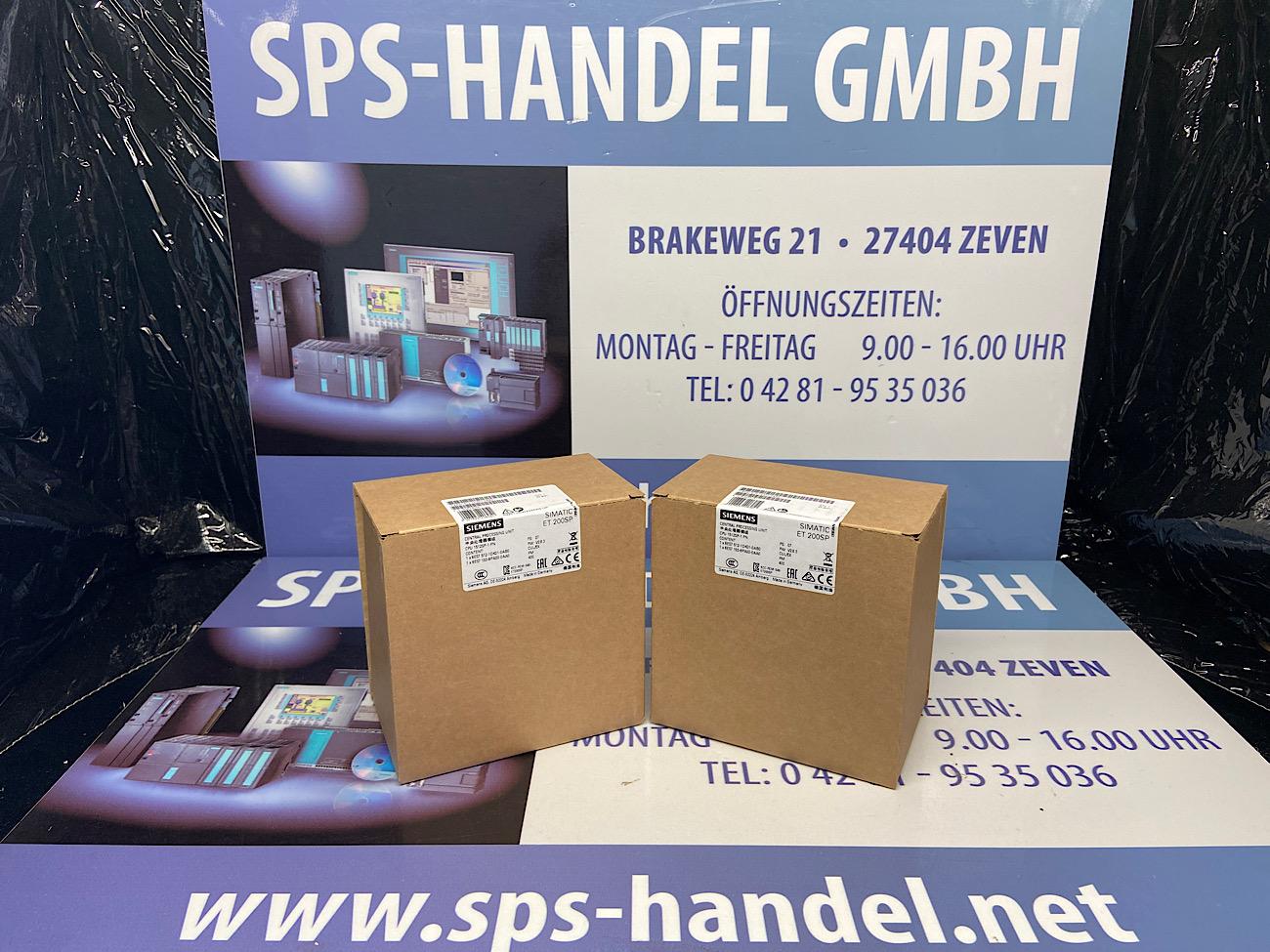 6ES7512-1DK01-0AB0 | CPU 1512SP-1 PN | NEU Siegel 26%