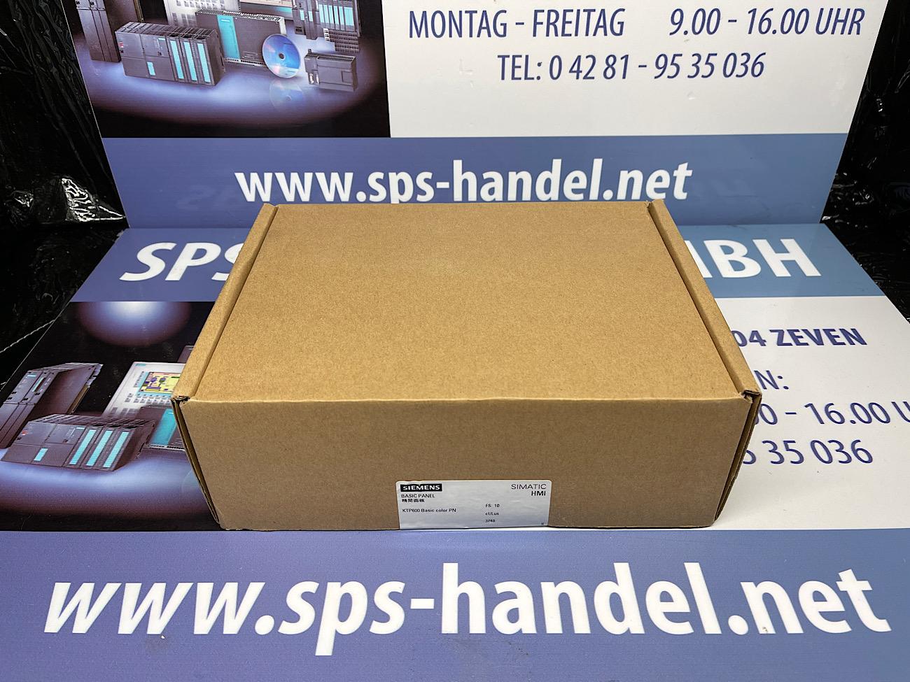 6AV6647-0AD11-3AX0   KTP600   Neu Siegel