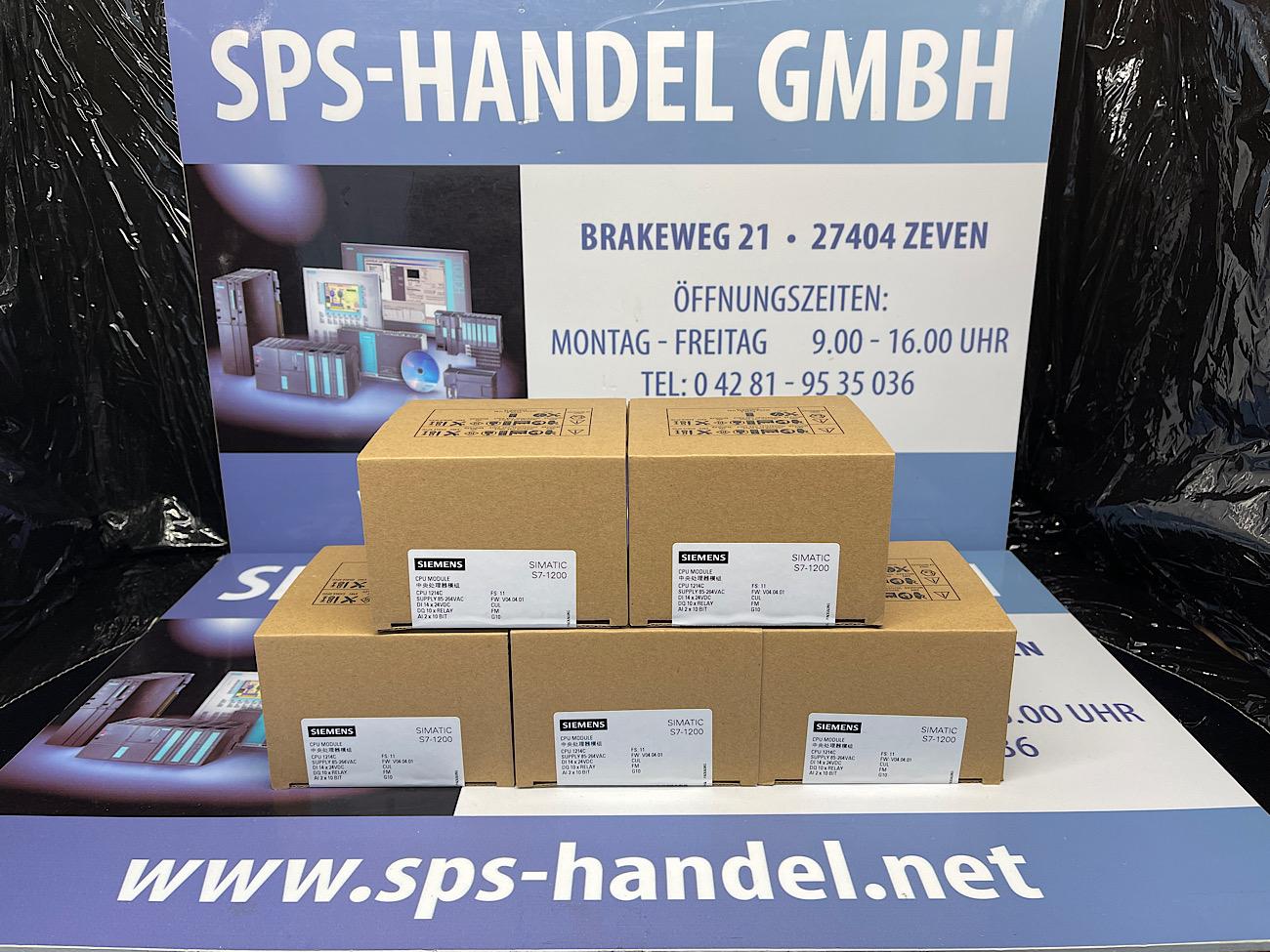 6ES7214-1AF40-0XB0   CPU 1214FC   NEU Siegel 33%