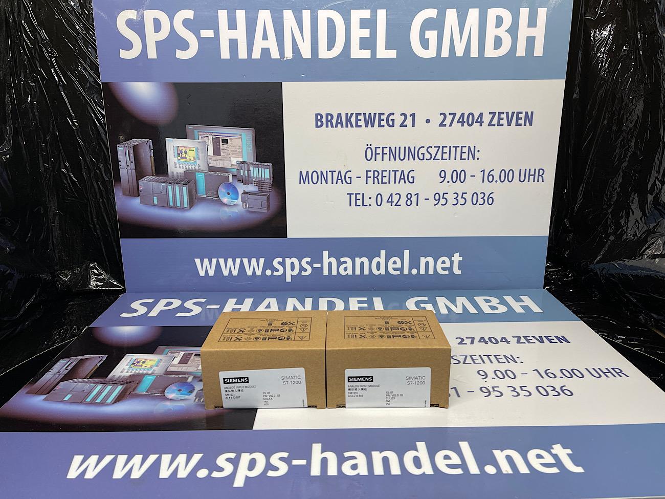6ES7231-4HD32-0XB0   SM 1231   NEU Siegel (30%)