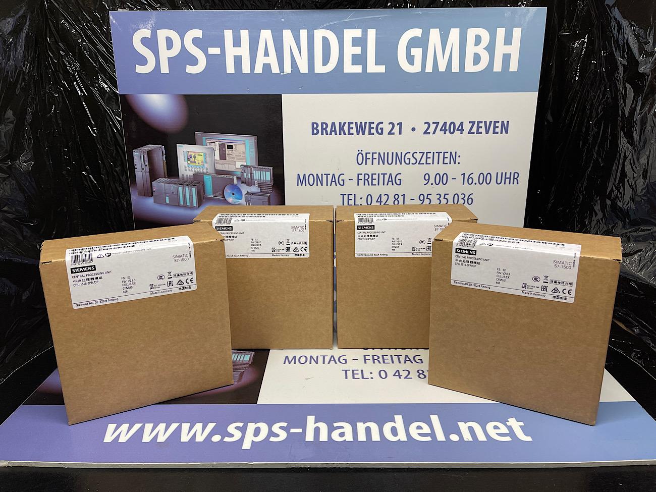 6ES7516-3AN02-0AB0 | CPU516-3PN/DP | NEU Siegel 26%