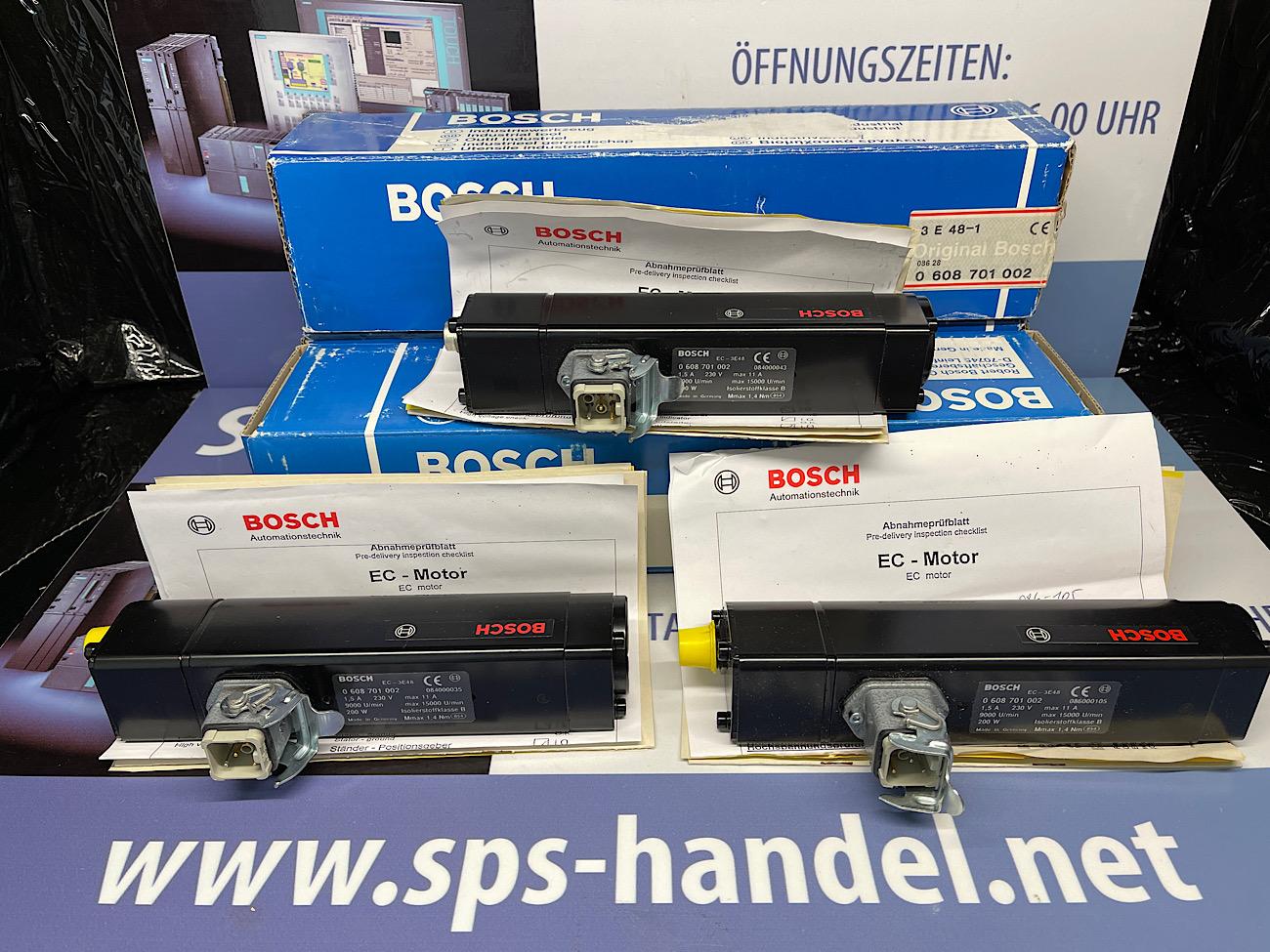 0 608 701 002 | EC-3E48 | Bosch Schrauber | neu OVP offen