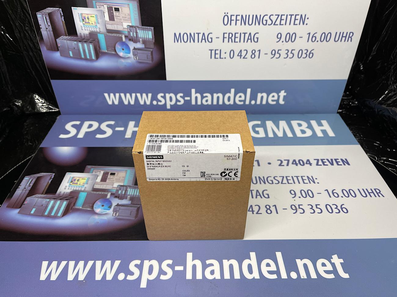 6ES7326-1RF00-0AB0   SM326   Neu Siegel  40%